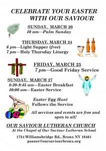 Holy Week Flye 2016 - half sheet